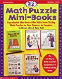 22 Math Puzzle Mini-Books, Michael Schiro and Rainy Cotti, 0590918095