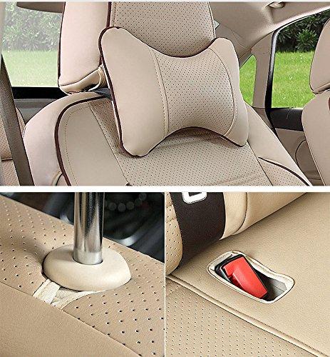 AutoDecorun 23 PCS/Set Perforated Leatherette Automotive Exact Fit