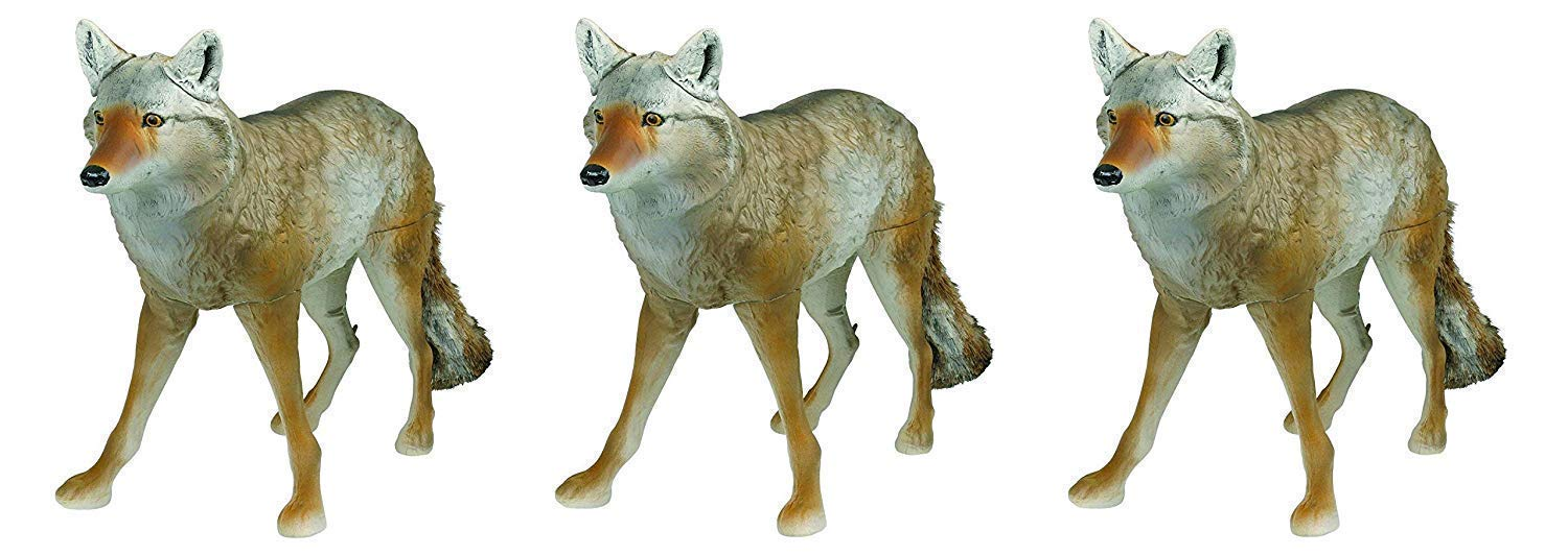 Flambeau Outdoors 5985MS-1 Masters Series Lone Howler Coyote Decoy (Pack of 3)