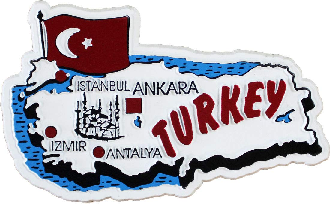 Turkey - Country Magnet