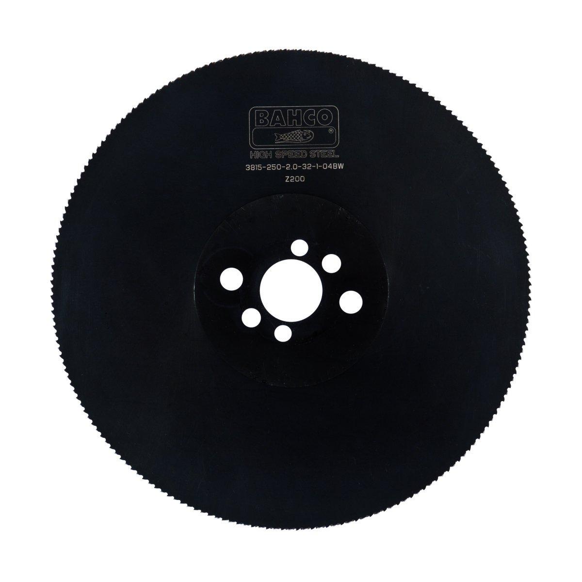Bahco 3815-200-2,0-32-1-04BW Sierra Circular De Acero R/ápido