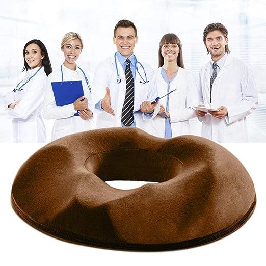 Cojin Ortopedico Hemorroides,ergonomico Cojín Hemorroides ...