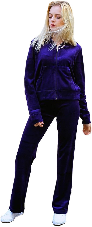 /20/excepcional marca 80/% algod/ón CY Boutique excepcional marca mujer terciopelo Ch/ándal Velour sudadera con capucha y pantalones de jogging Reino Unido tama/ño 8/ 20/% poli/éster