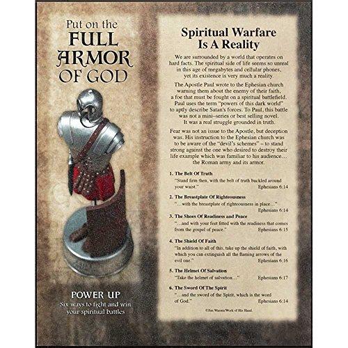 Full Armor of God Ephesians 6 Wood 8 x 10 Wall Art Plaque
