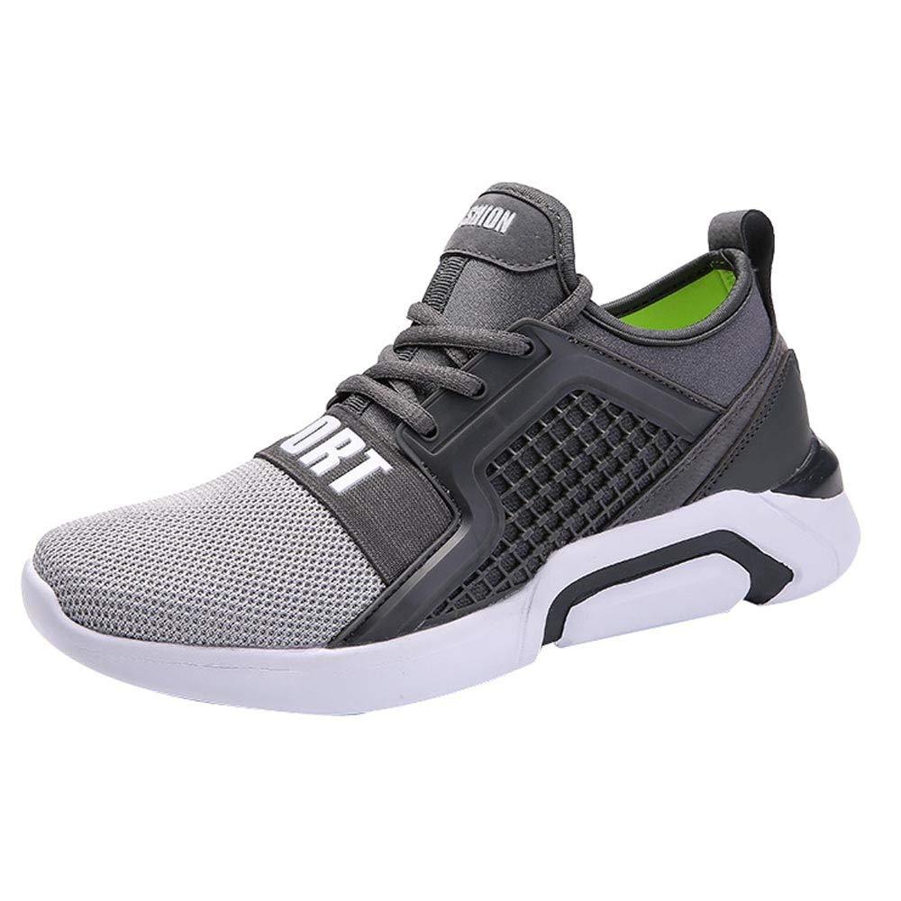 Zapatillas de Running para Hombre,ZARLLE Zapatillas de Deporte Hombres Zapatos de Gimnasia Para Caminar de Peso Ligero Zapatillas de Deporte Zapatos ...