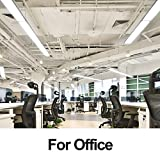 AntLux 60W LED Office Lights Ceiling 4FT LED