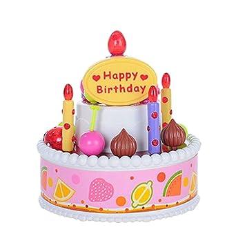 boutique1583 la simulación de Tarta de cumpleaños de los ...