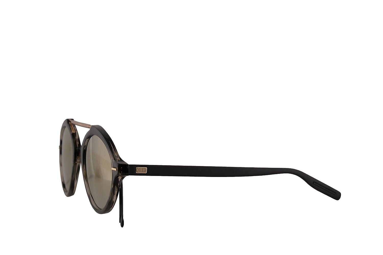 f4dd45a8ddb Amazon.com  Christian Dior Homme DiorSystem Sunglasses Havana Matte Black  w Grey Bronze Mirror Lens 49mm 2OSJO Dior System Dior System S  DiorSystem S  ...