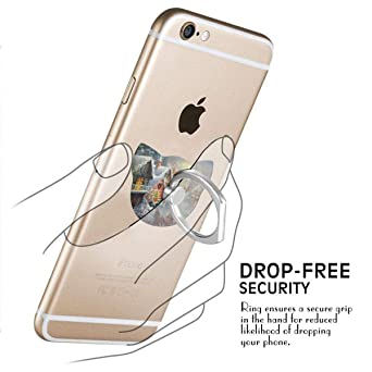 ME SUPERB 2018 DESIGN Samsung Galaxy S8 S7 Edge S6 Note 8 5 8PCS Cell Phone Finger Ring Holder Universal Smartphone Bracket Animal Cat Ring Grip Kickstand for iphone X 8 8S 7 Plus 6 6S 5 5C 5S