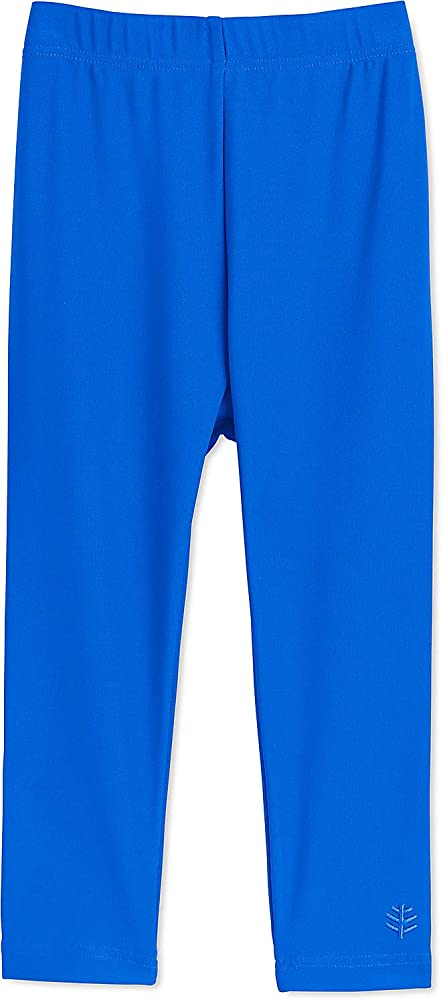 64a54782dc315 Amazon.com: Coolibar UPF 50+ Baby Wave Swim Tights - Sun Protective (2T-  Baja Blue): Clothing