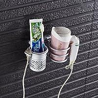 Metal de aluminio secador de pelo accesorio de para pared estante accesorio  de pared paredes de baño estante de almacenamiento organizador de baño  secador ... 04f93412515a