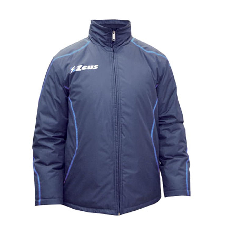 Giubbotto Eko Fauno Blu-Royal Inverno Sport Calcio Palestra Winter Relax Giacca Pegashop ZEUS