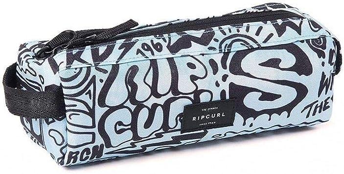 Estuche rectangular RIP CURL Cover Up 2 compartimentos, azul: Amazon.es: Equipaje