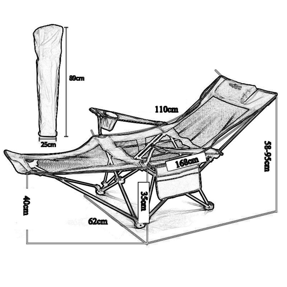 Amazon.com: Sillas de pesca taburetes de playa plegable ...