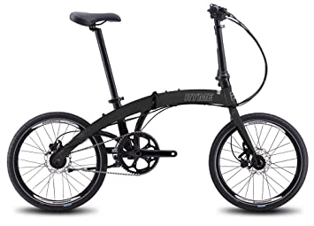 RYMEBIKES Bicicleta Plegable 20´´ Black Edition