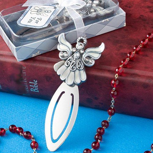 - Gift Boxed Angel Bookmark Perfect Favors for Weddings or Religious Events (48 pieces)