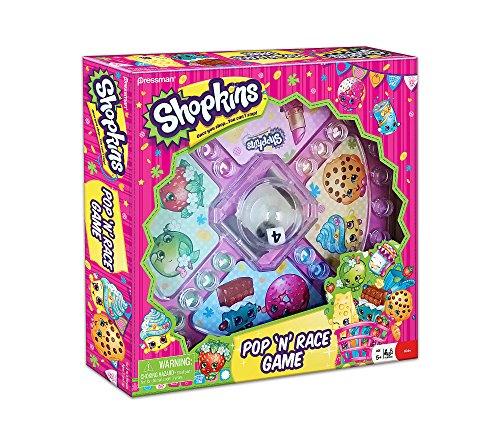 Shopkins Pop 'N' Race Board Game