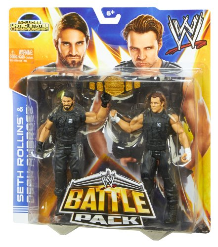 Rollins Chair: WWE Battle Pack Seth Rollins Vs. Dean Ambrose Action