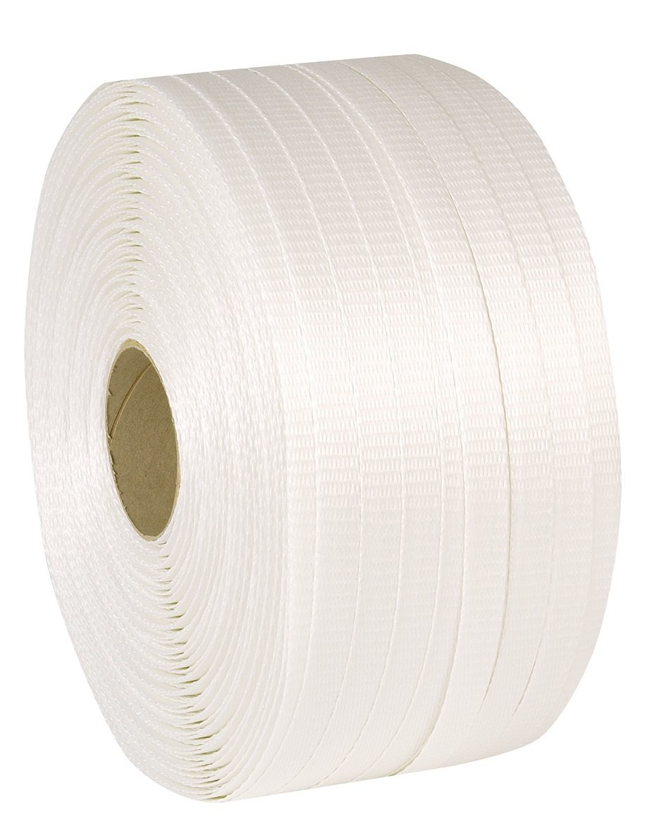 Swiftpak 19mm x 600m 450kg Woven Cord Polyester Strapping (Pack of 2) Swiftpak Limited STWP60
