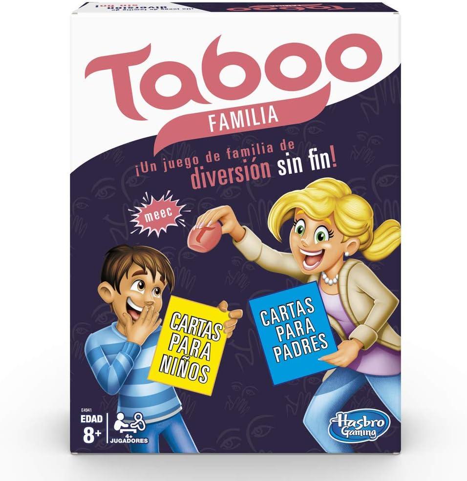 Hasbro Gaming- Tabú Familia (E4941105): Amazon.es: Juguetes y juegos