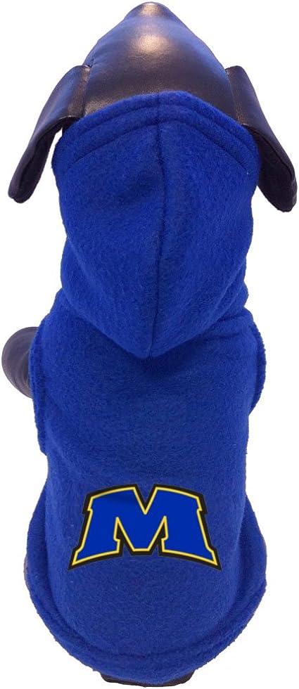 NCAA Ohio State Buckeyes Polar Fleece Hooded Dog Jacket