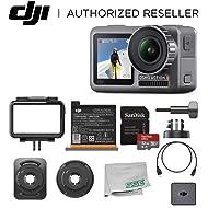 DJI Osmo Action 4K HDR Waterproof Camera Beginners Bundle