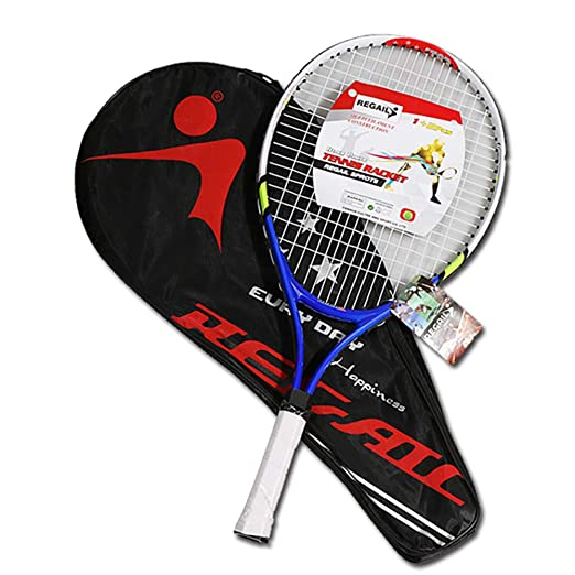 SQZQ Raqueta de Tenis de Fibra de Carbono para niños Raqueta de ...