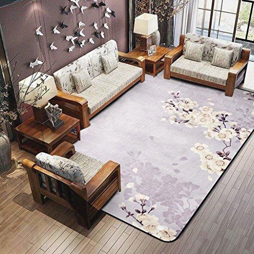 MOMO Teppich Einfache Mode Teppich Plum Blossom Moderne Wohnzimmer Schlafzimmer Teppich Bett Boden Teppich Teppich Rechteckigen Teppich,120 180 - Boden Uk Shops In