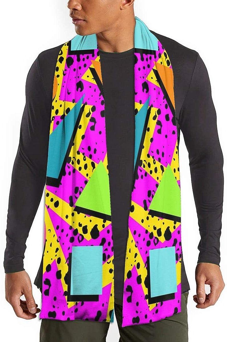 Autumn Winter Cozy Scarf Classic Imitation Cotton Scarves for Men Boys Women