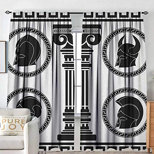 Toga Costumes Melbourne - Petpany Rod Pocket Curtains Toga Party,Patterned