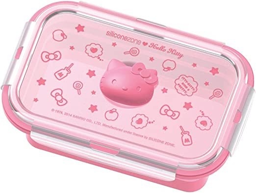 Kite sanrio Hello Kitty Kids Long Lunch Container