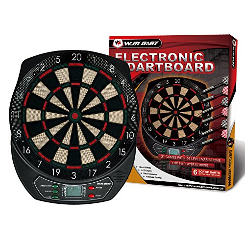 WIN.MAX Electronic Soft Tip Dartboard Set LCD