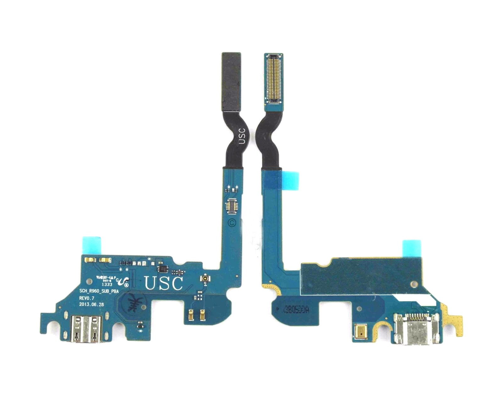 Simply Silver - USB Charging Port Dock Connector Flex Cable For Samsung Galaxy Mega 6.3 SCH-R960 - Unbranded