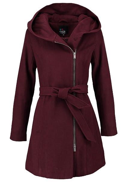 Sconto Rosso Grigio | 2020 Cappotto Di Inverno Grigio Rosso
