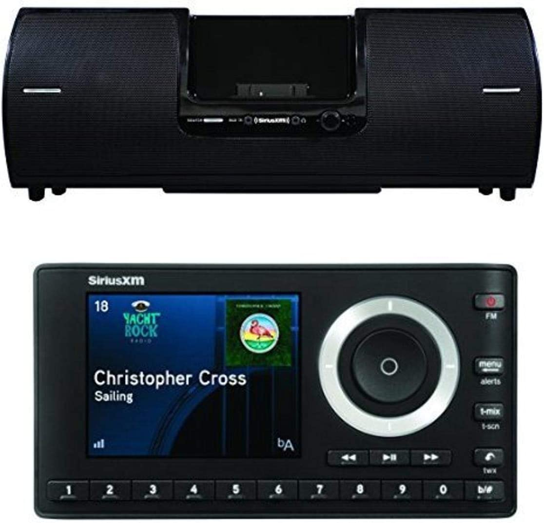 SiriusXM Portable Speaker with Onyx Plus Home Satellite Radio Kit