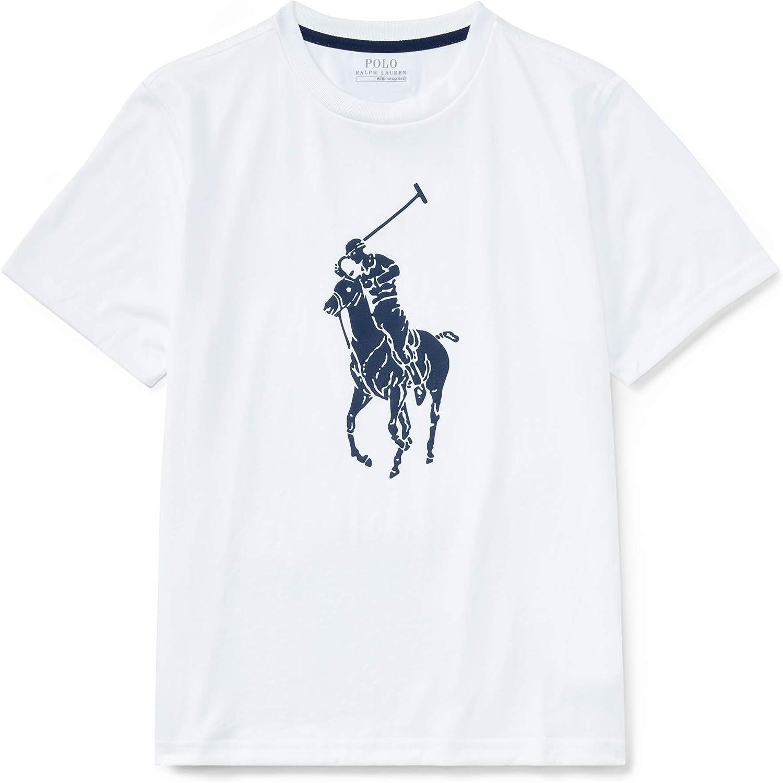 Ralph Lauren - Camiseta de Manga Corta - para niño Blanco ...