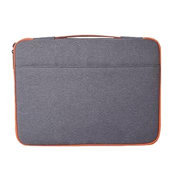 Briefcase Funda De Cuero Protectora Impermeable Antigolpes Para Ordenador Portátil Laptop Tableta Macbook Pro Air Marengo 11.6: Amazon.es: Equipaje