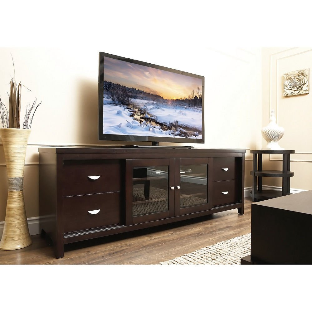 Amazon.com: 72-inch TV Console. This Modern Television Console is just what  your Living Room is Missing. Big in Size and High in Quality, this Modern TV  ...