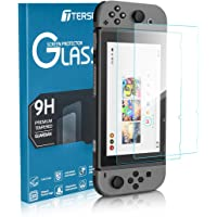 Tersely Screen Protector Glass for Nintendo Switch, [2 Pack] Premium Tempered Glass Screen Protector for Nintendo Switch…