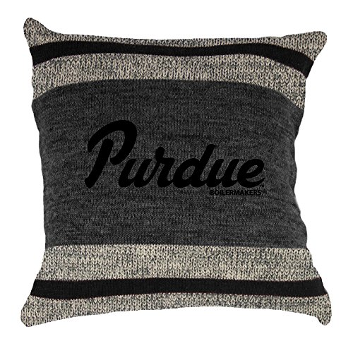NCAA Purdue Boilermakers Unisex Work Sock Pillow, Black Mix, One Size (Pillow Soft Boilermakers Purdue)