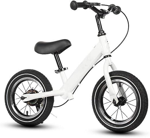 Bicicleta de Equilibrio Bebe 2AñOs,Bicicleta de Equilibrio Infantil,No Pedal,Walking,Balance Entrenamiento,Robusto,Bicicleta para NiñOs y NiñOs de 2 a 6 AñOs,White: Amazon.es: Jardín