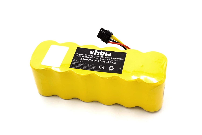 vhbw - NiMH batería 4500 mAh (14.4 V) para el hogar Robot aspirador LG Hombot Square 3.0, ROBO King vr6270, vr6270lvm como LP43SC2000P.