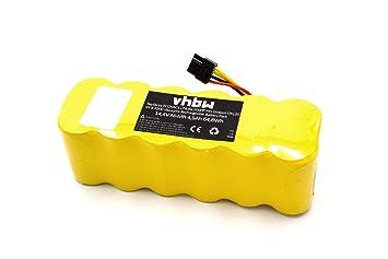 vhbw - NiMH batería 4500 mAh (14.4 V) para el hogar Robot aspirador ...