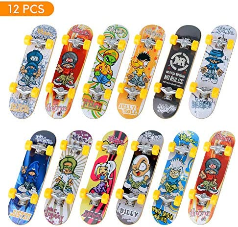 Removable Educational Toy Fun Bicycle Scooter for Children Childrens Birthday Party Favours Finger Skateboards Foldable Mini Skateboard Toy Deck Childrens Mini Finger Skateboard Set