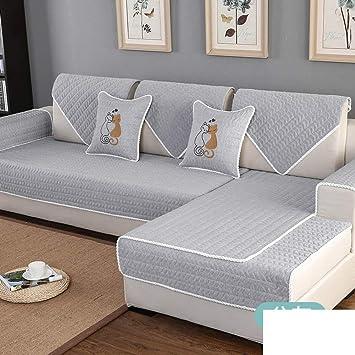 Amazon.com: WJX & Likerr - Funda de sofá acolchada, cuatro ...