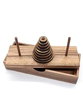 Divertidos juegos de mesa de rompecabezas de la torre Hanoi (9 ...