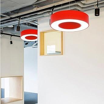 Mode Kronleuchter WXP Farbe Ring Kronleuchter Modern Einfache LED Für  Office Study Kindergarten Projekt