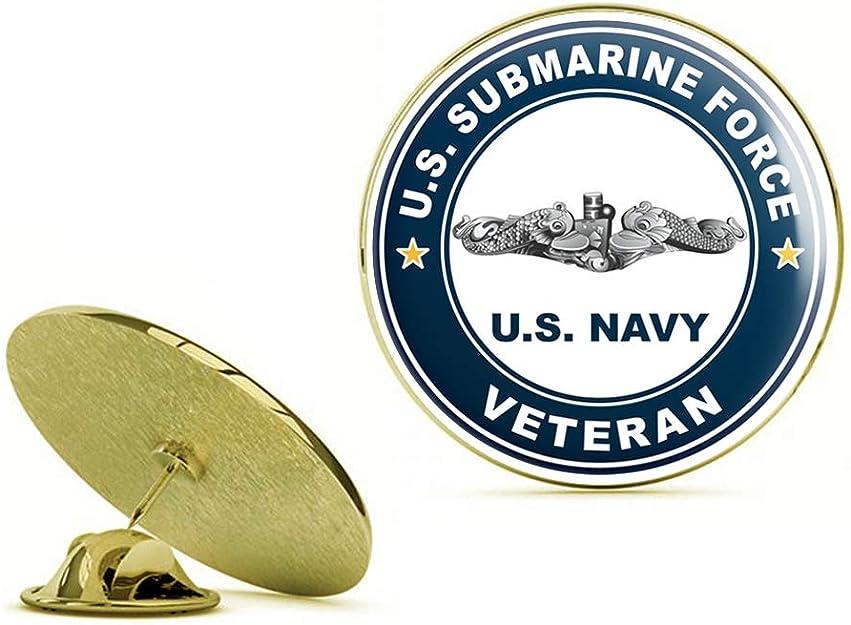 Pewter Submarine Flag Pin