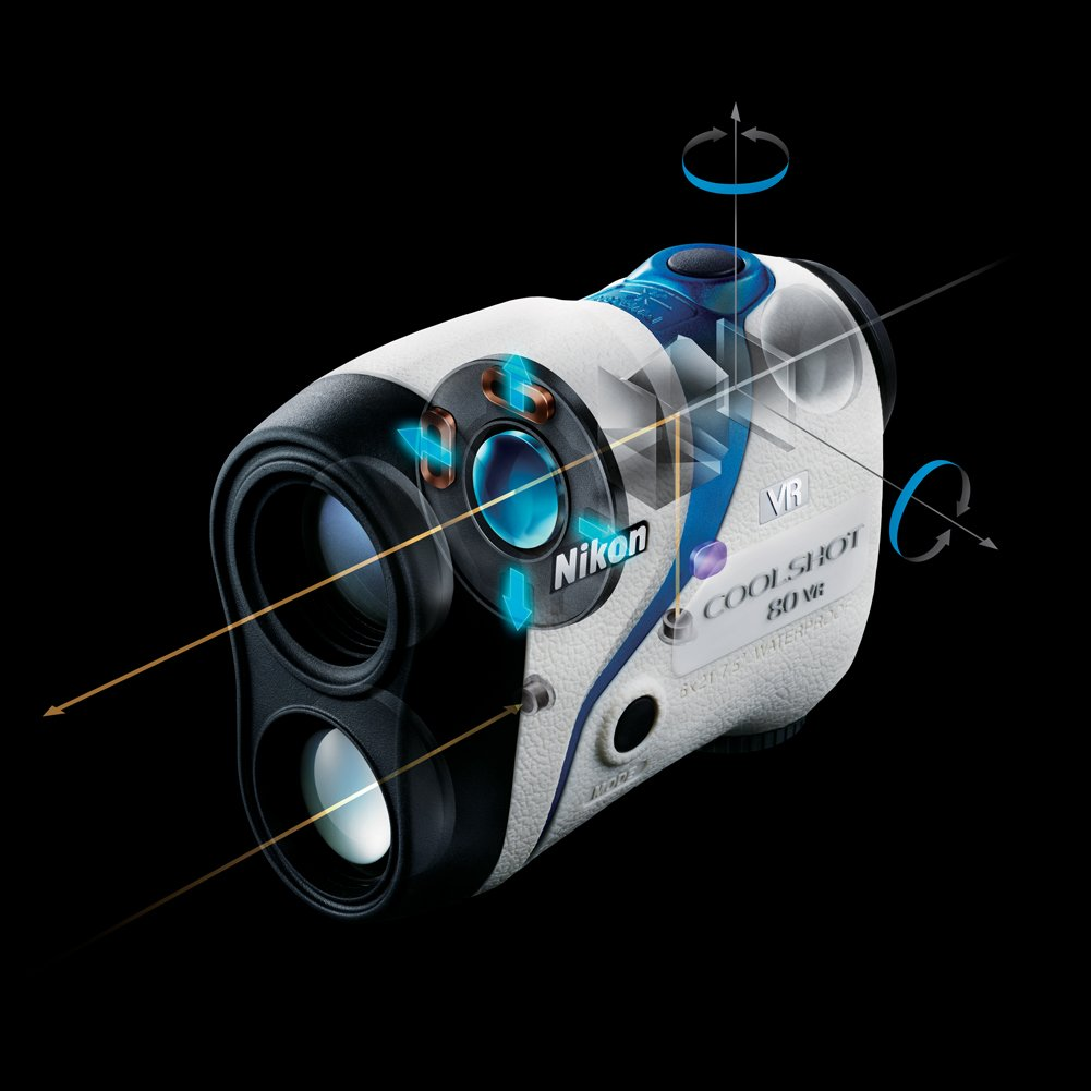Nikon Golf Coolshot 80 VR Golf Laser Rangefinder by Nikon (Image #3)