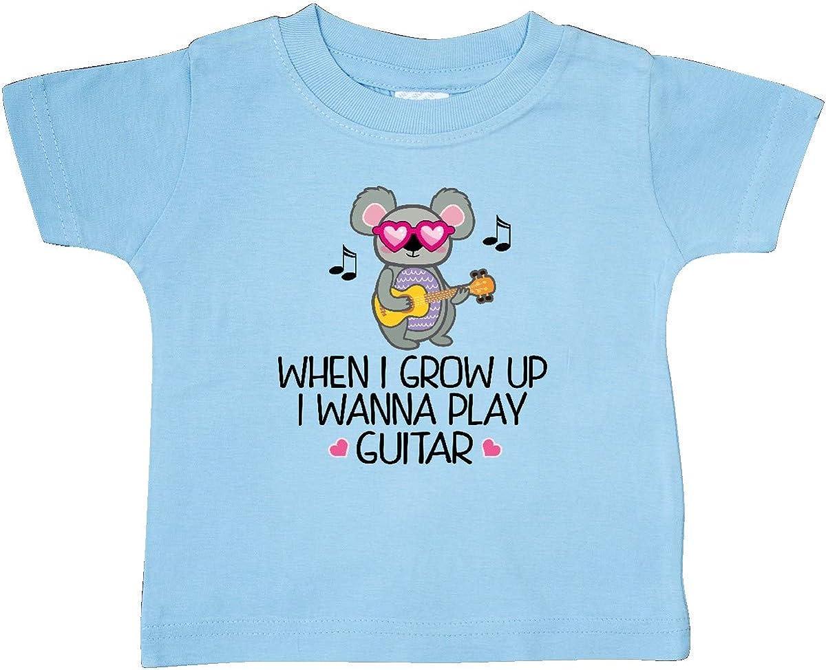 inktastic Future Guitar Player Cute Music Baby T-Shirt